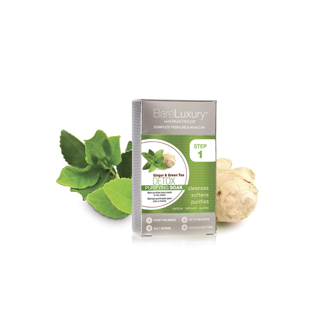 Detox Jengibre y Té verde 4 Pack