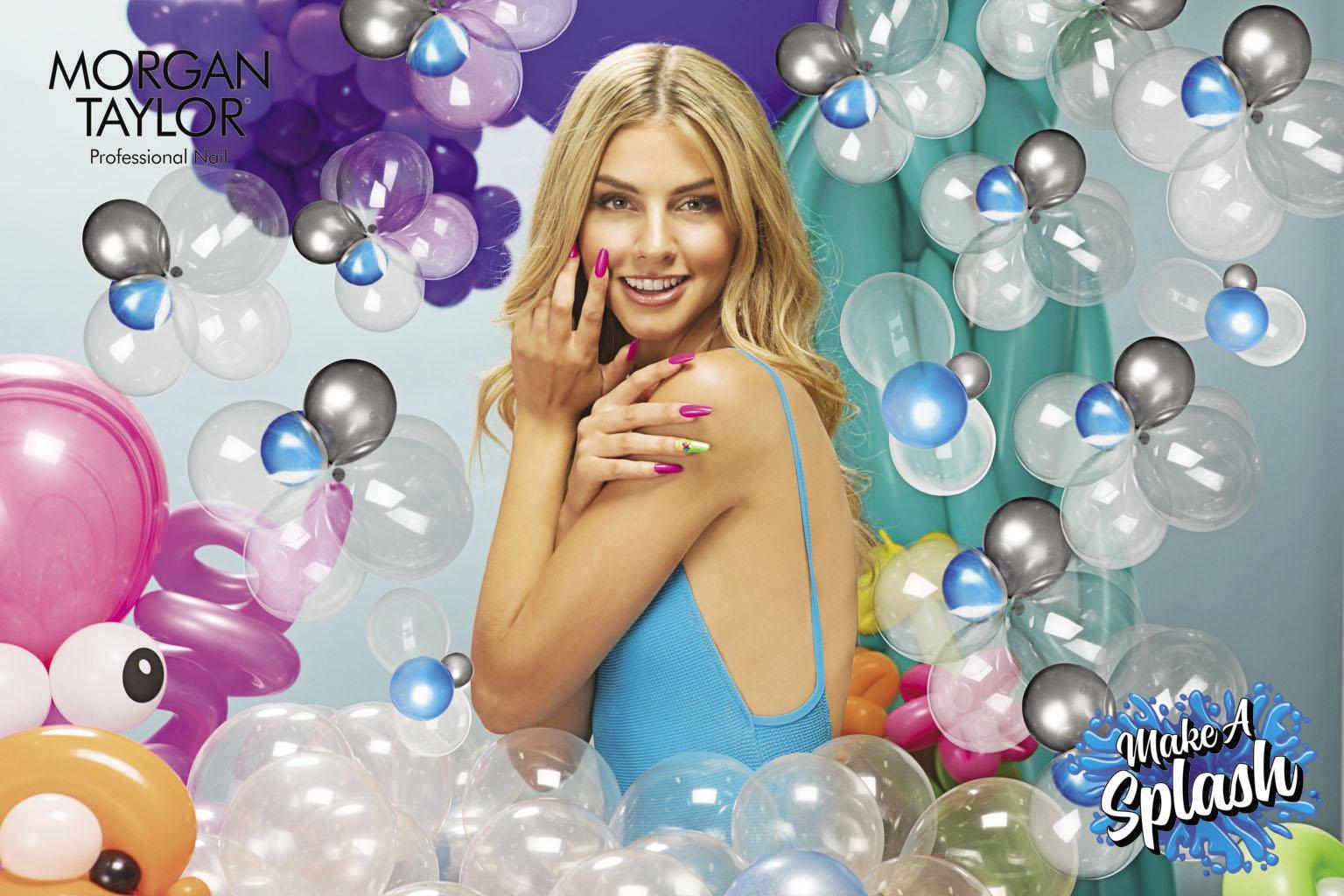 Imagen de la colección de color Make a Splash de Morgan Taylor®