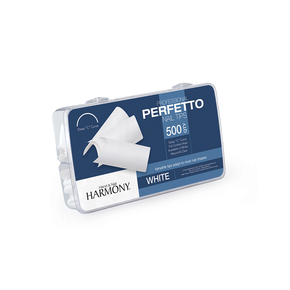 Perfetto Nail Tips White