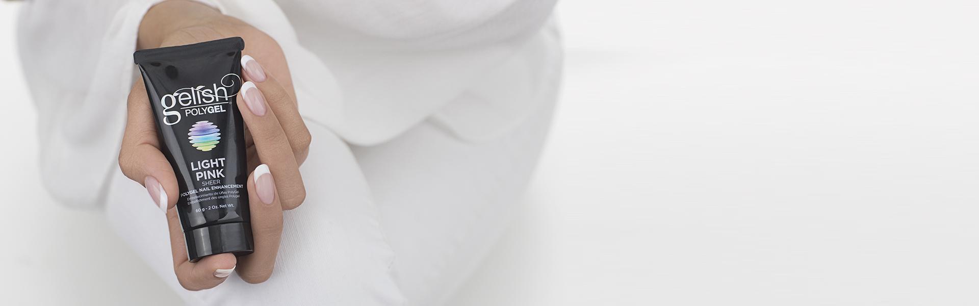 PolyGel™ España | Construcción de uñas que combina acrílico y gel